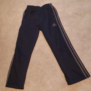 Adidas Navy sweatpants w/dark silver stripe (8)